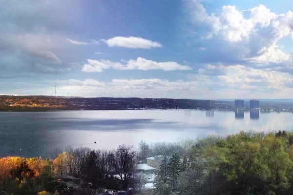 Lake Simcoe and Kempenfelt Bay Year-Long Time Lapse as Seasons Change