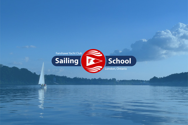 London Sailing School Logo Cover