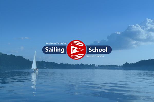 London Sailing School Logo Cover